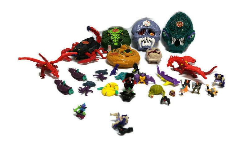 Mighty Max Lot Loose Playset Figures