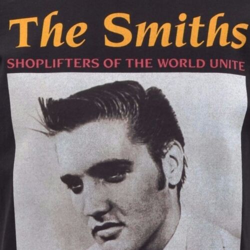 WOMENS TANK TOP THE SMITHS SHOPLIFTERS ELVIS PRESLEY ENGLISH MORRISSEY S-2XL