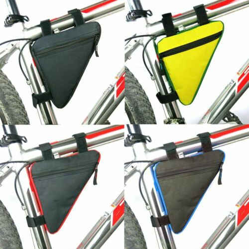 Accessories Fashion Mountain Bike Pouch Bicycle Front Tube Frame Bag Waterproof