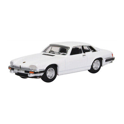 ° Beneficial To The Sperm 230256 Model Car New Oxford 76xjs006 Jaguar Xjs Coupe White Scale 1:76