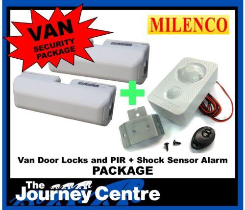 VW Crafter Milenco Van Security System Van Door Lock Twin Pack and Alarm