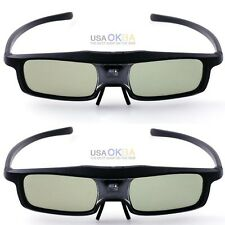 OKEBA 2PCS RF/Bluetooth Active 3D Glasses For Epson 2030 750HD 5030 Projecotor