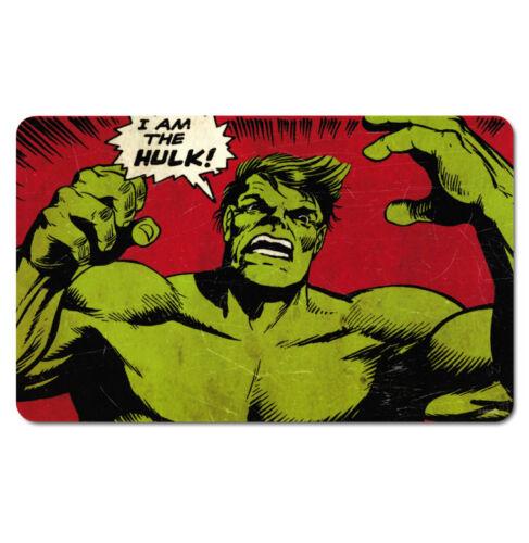 Schneidebrett LOGOSHIRT Hulk Frühstücksbrettchen Marvel Comics Superhero