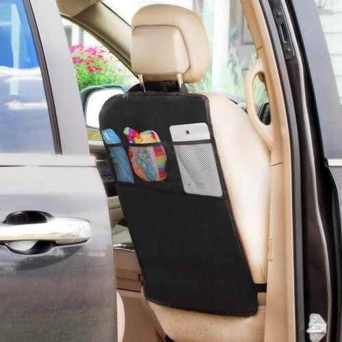 Car Back Seat Organiser Tablet iPad Holder Protector Kids Bottle Kick Mat Tidy
