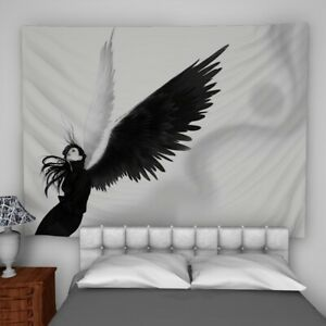 Details About Angel Wings Wall Hanging Tapestry Psychedelic Bedroom Home Decoration