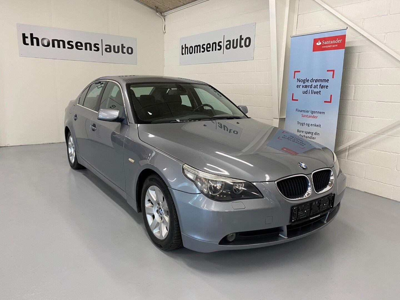BMW 520i 2,2  4d - 69.400 kr.