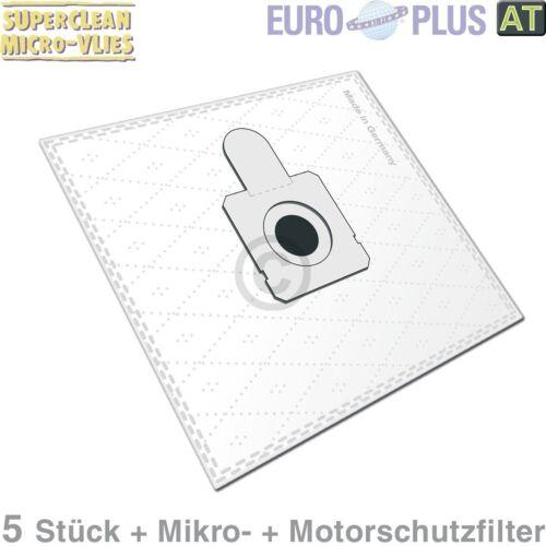 Filterbeutel Europlus OM1579 Vlies u.a für Quelle Optimo 5 Stk