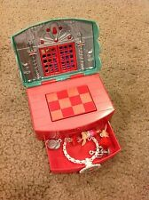 """NEW """"OLIVIA"""" FANCY RESTAURANT MINIATURE PLAYSET W/ 1 1/4"""" FIGURES FOR AGE 4+!"""