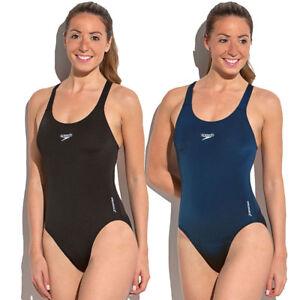 739ef982f211 Detalles de Speedo Endurance + Medalist Mujer Traje De Baño Natación  Piscina SPC004- ver título original