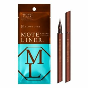 Flowfushi-Mote-Liner-Liquid-Eyeliner-Moteliner-Eye-Brown-Black-0-55ml-Japan