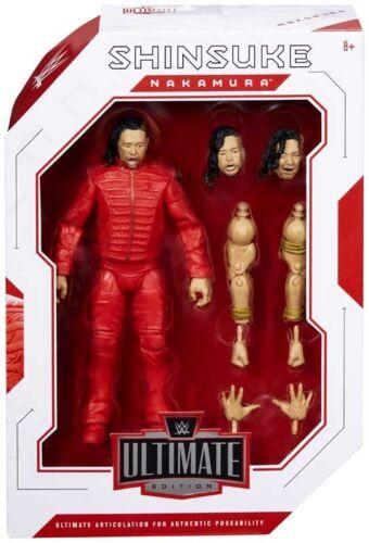 WWE Ultimate Edition Shinsuke Nakamura Combat 34 action figure Neuf Scellé