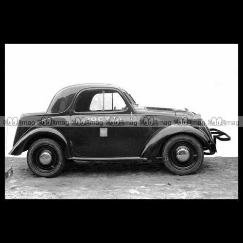 #pha.028122 Photo FIAT 500 TOPOLINO 1936 POCZTA POLSKA, POSTAL SERVICE Car