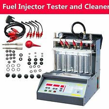 Car Motorcycle Injector Ultrasonic Cleaner Tester 6 Injector Simultaneously