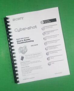 laser printed sony dsc h2 dsc h5 camera 120 page owners manual guide rh ebay com DSC Alexor Manual Sony DSC