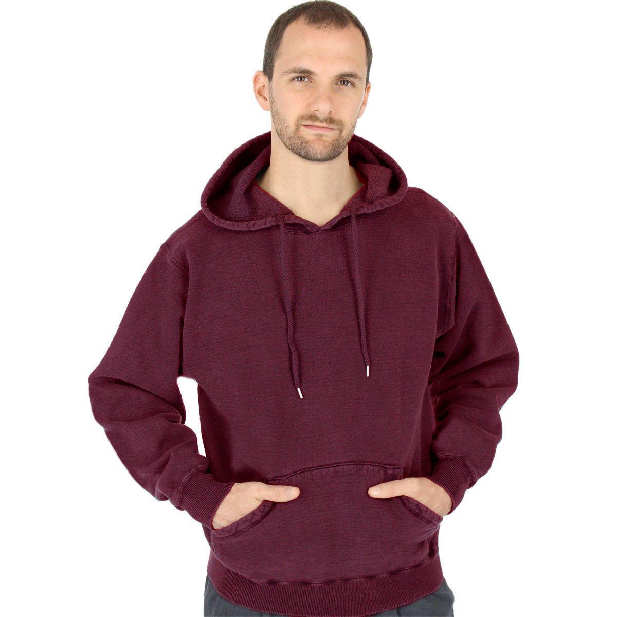 CottonMill 100% Cotton  Herren Hoodie Pullover Sweatshirt