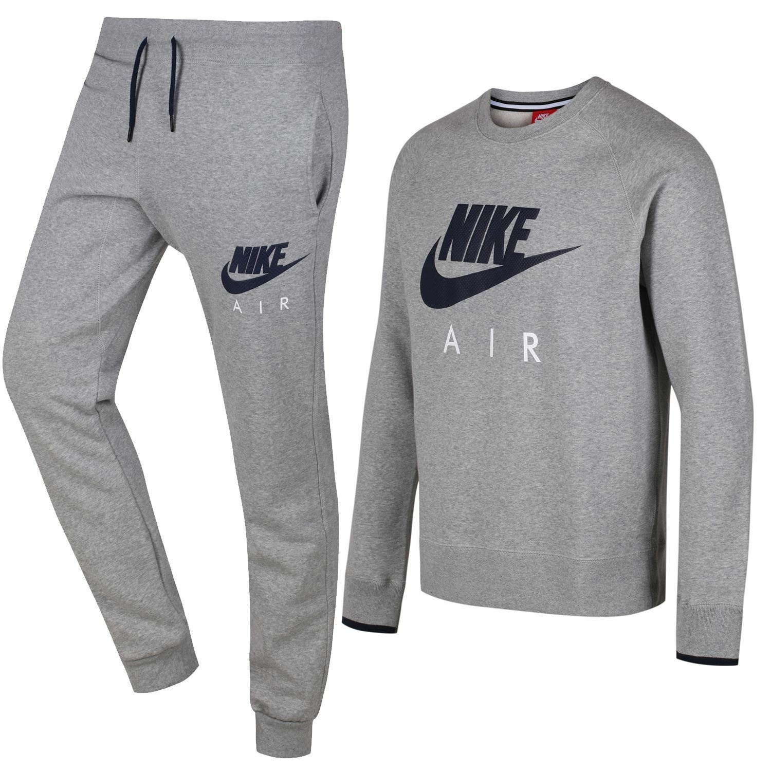 Nike Air AW77 Heritage Heritage Heritage Chándal Polar Gris Estampado S M L XL ropa deportiva aa60b9