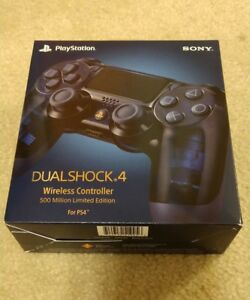 ps4 controller 500 million limited edition