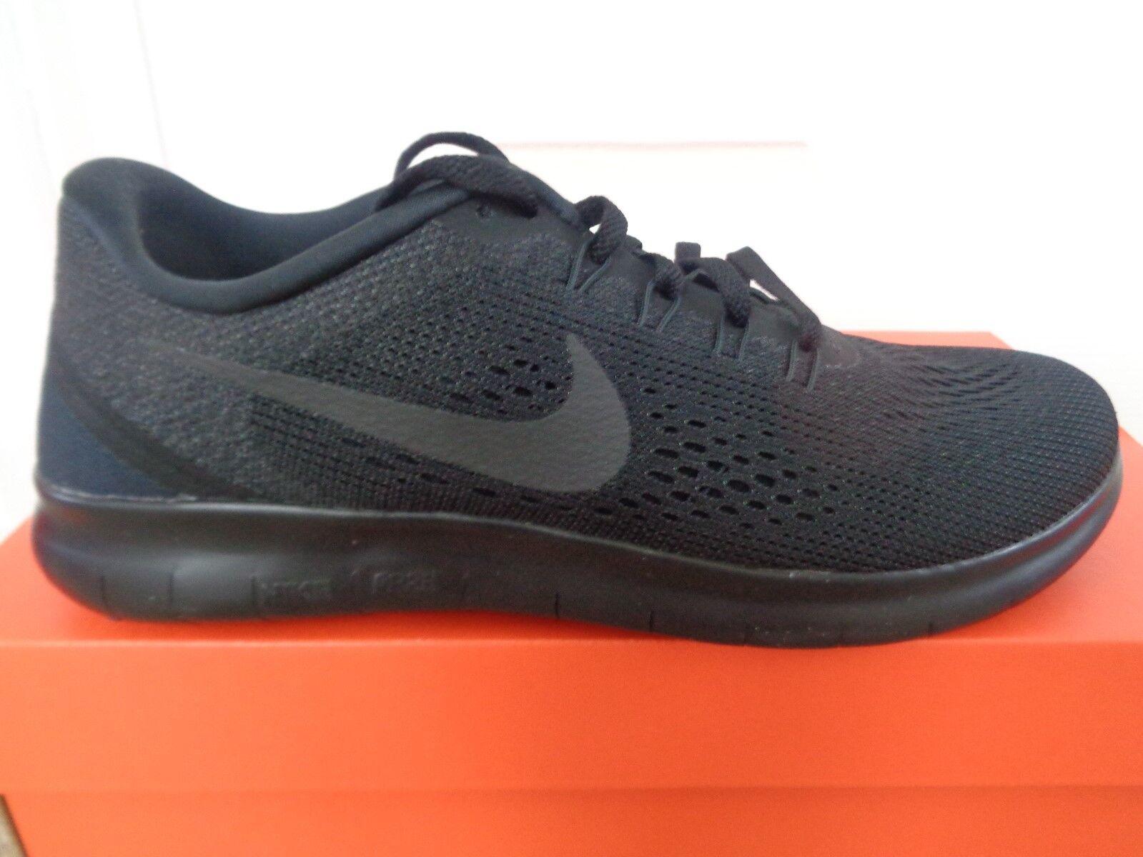 Nike Free RN para mujer Zapatillas Sneakers zapatos 831509 002 nos 7 Nuevo + Caja