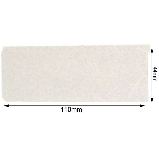 PANASONIC Genuine Microwave Wave Guide Cover Wall Guard Plate Panel 110 x 44 mm