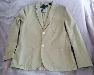 Levis California Blazer NEW Mens Sports Coat Cilantro Green Cotton
