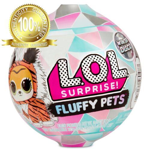 LOL Surprise Fluffy Pets Winter Disco Series Gold PRECIOUS MEOW Sealed Rare VHTF