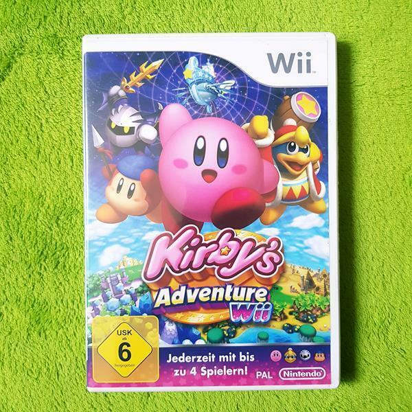 Wii - Kirby's Adventure (German)