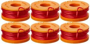 WORX-WA0010-Replacement-Spool-Line-For-Grass-Trimmer-Edger-10ft-6-Pack