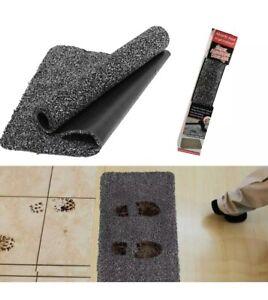 New Super Absorbent Magic Door Black Mat Entrance Muddy Feetpaws