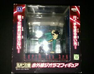 Lupin-The-3rd-Infrared-Rays-Diorama-Figure-By-Banpresto-In-The-U-S-New-In-Box