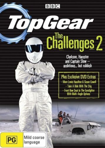 1 of 1 - Top Gear - The Challenges 2 (DVD, 2008)