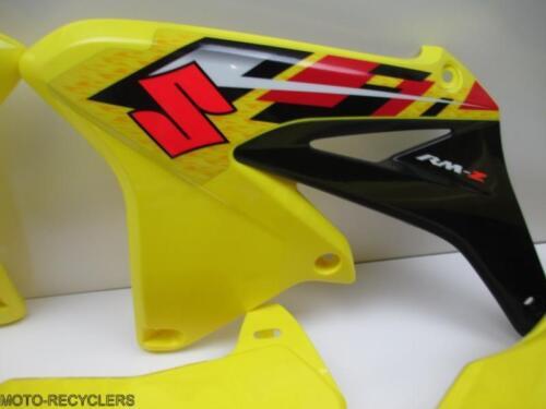 13 RMZ250 RMZ 250  Plastic front rear fender shrouds # plates #NEW-9755