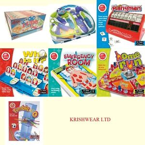 Board Games For The Whole Family Kids Traditional Retro Board Game