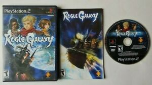Rogue Galaxy PlayStation 2 PS2 - Complete Game CIB Tested & Works