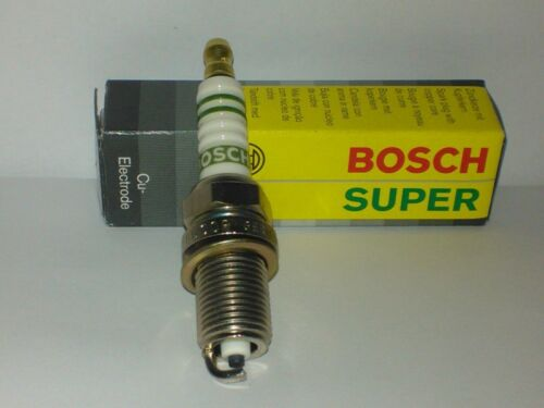 2x Bosch Zündkerze F8LCR Super Spark Plug Bougie Candela Bujía Tennplu