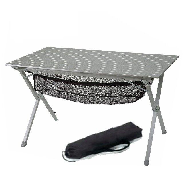 Camping Bel Sol Alu Rolltisch Campingtisch 119 x 70 cm