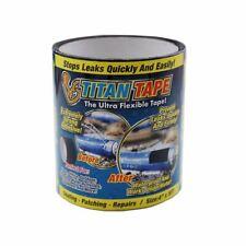 Titan Tape Rubberized Waterproof Ultra Flexible Tape 4 X 5 Ft Black