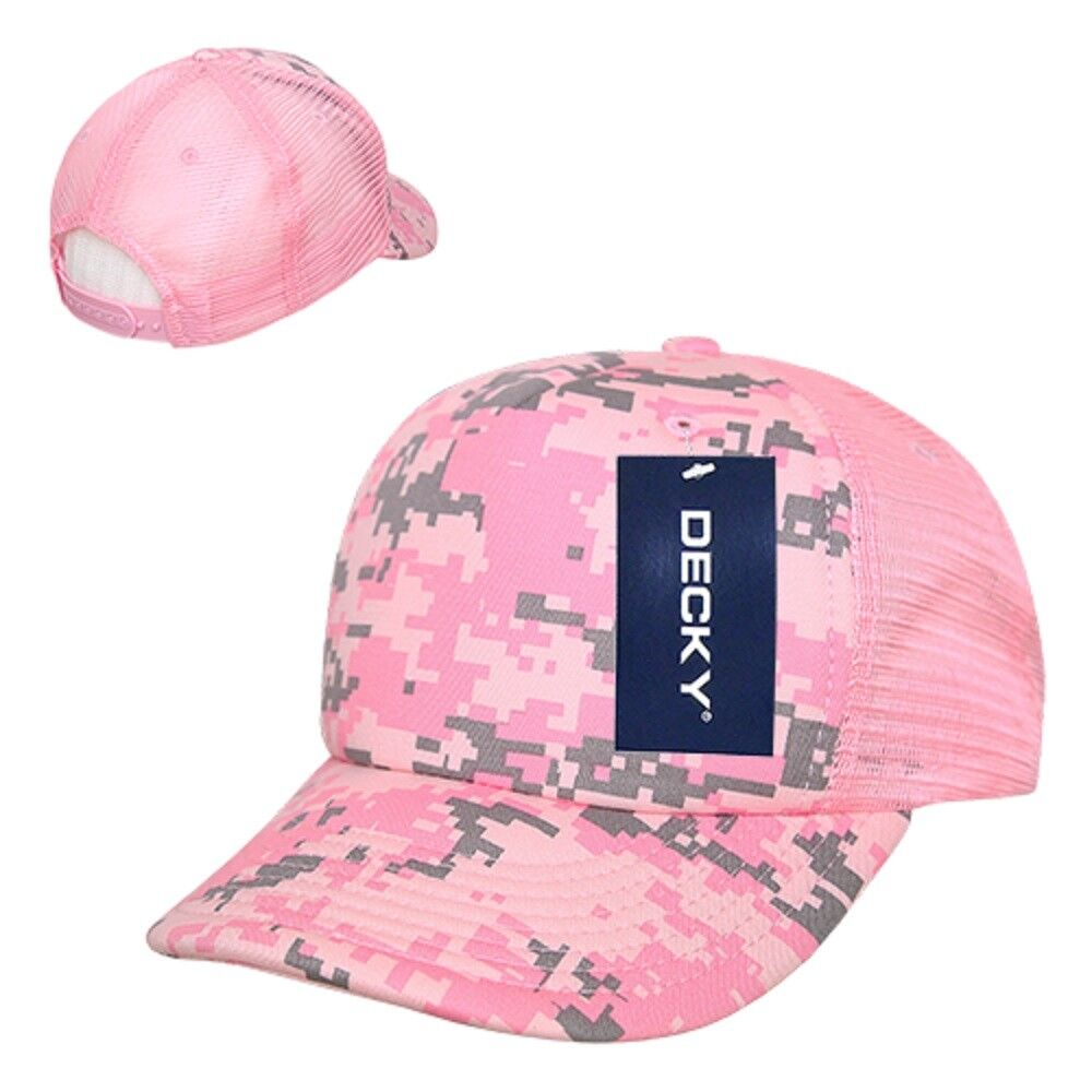 Realtree DECKY Curved Bill Trucker Snap Back Baseball Cap Hat