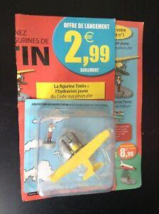 Hydravion-Tintin-Hachette-ETAT-NEUF