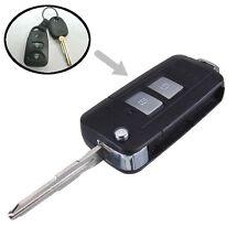 Folding Flip Remote Key Shell Case Fob 2 Button for HYUNDAI Santa Fe 2006-2014