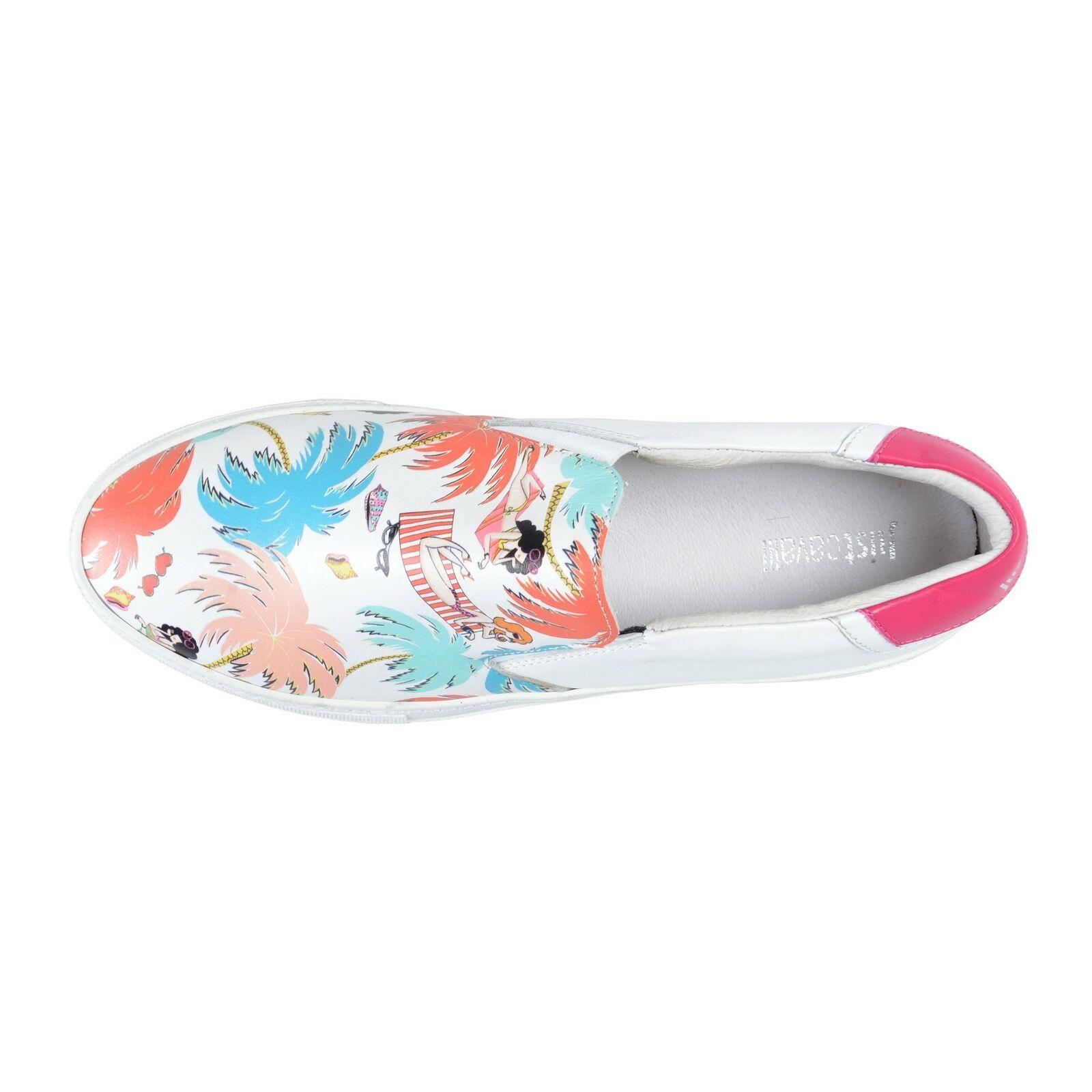 Just Cavalli mujer cuero antideslizante en mocasines mocasines mocasines zapatos EE. UU. 9 it 39 661439
