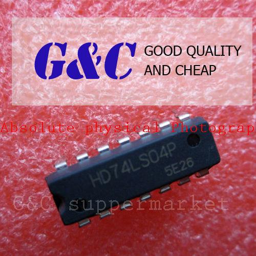 50PCS HD74LS04P DIP IC HITACHI NEW GOOD QUALITY