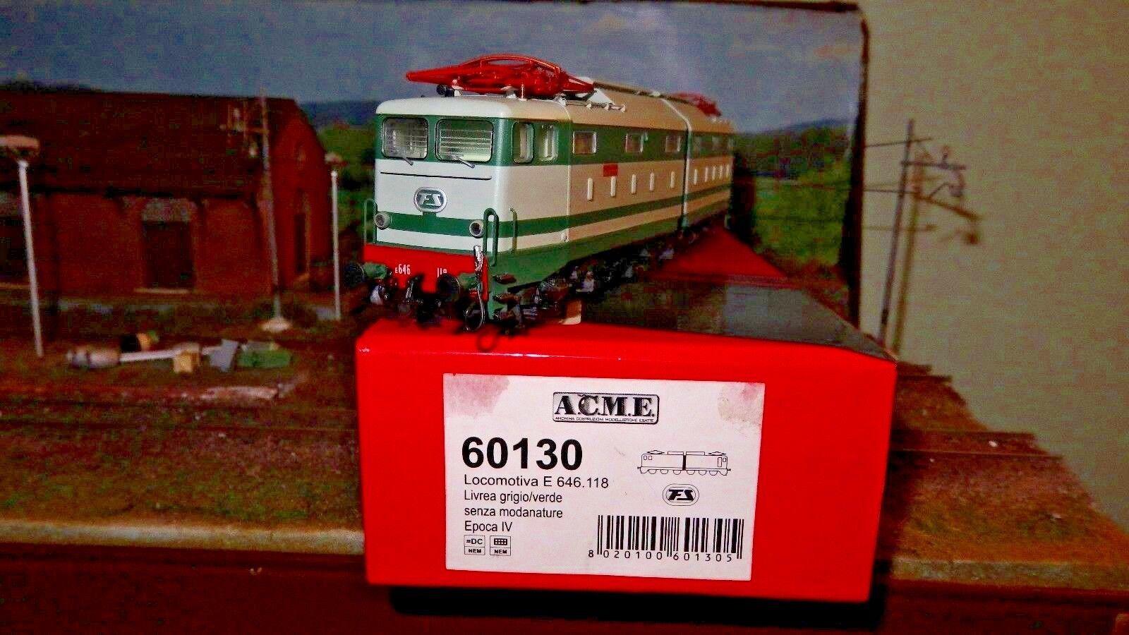 ACME ACME ACME 60130 E646 118 SECONDA SERIE verde grigio senza modanature FS ca7152