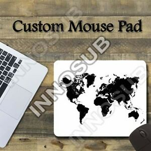 Black and white world map cool mouse pad 775x925 gaming mousepad image is loading black and white world map cool mouse pad gumiabroncs Image collections