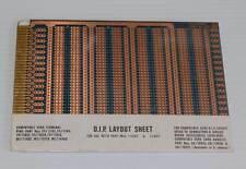 Vero D.I.P. Layout Prototyping Circuit Board Sheet 11821 NOS