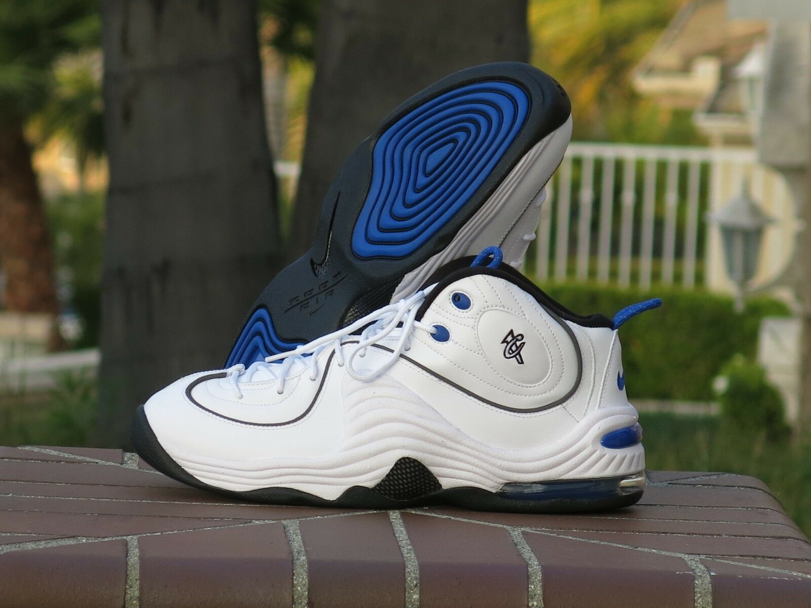 33b4f92f16 Nike Air Penny II Basketball shoes 333886-100 Men's pwvxnq3461-Athletic  Shoes