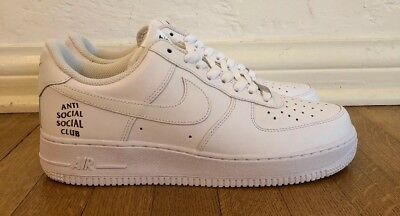 Details about Nike X Anti Social Social Club Air Force 1 Rare Authentic Size 9 Sample 1 Of 1