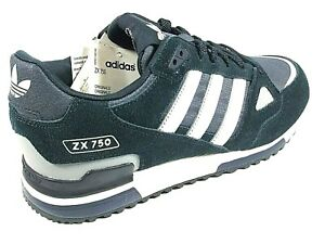 Details about Adidas ZX 750 Originals Mens Shoes Trainers Uk Size 8.5 to12 G40159