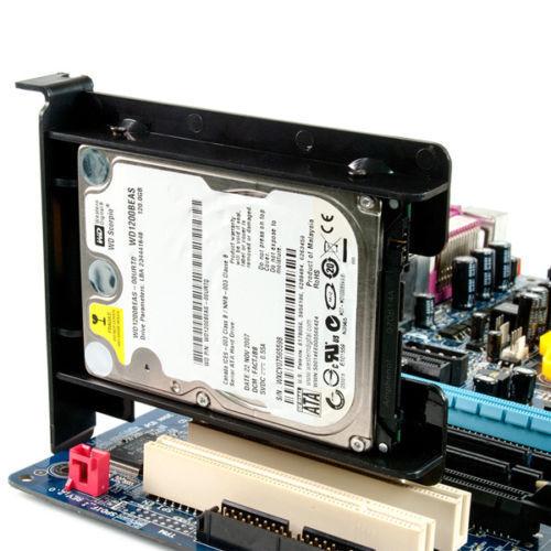 Evercool HDD//SSD 2.5inch  Mount Bracket for PCI Slot HDB-100