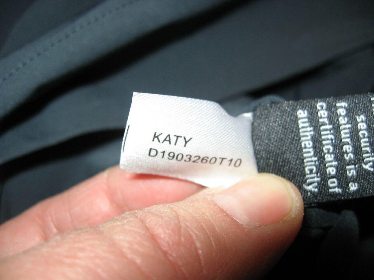 DVF Diane Von Furstenberg Furstenberg Furstenberg KATY Tech Stretch Poplin Dress Slate Grey 0 US  375 c130f1