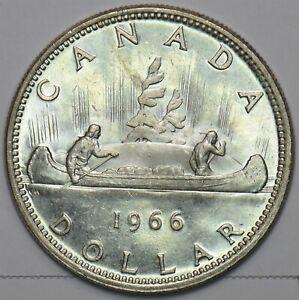 Canada 1966 Dollar 240380 combine shipping
